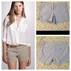 NWOT J. crew light blue chino shorts